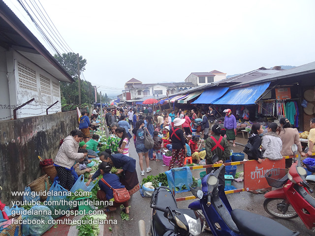 [โพนสะหวัน]เดินเที่ยว ตลาดเช้าเชียงขวาง นานาของกิน